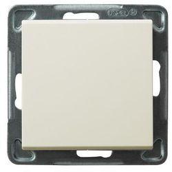 Wyłącznik jednobiegunowy Ospel Sonata ŁP-1R/M/27 16AX IP20 ecru