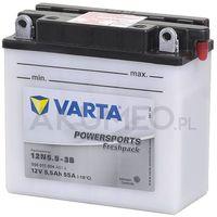 Akumulatory do motocykli, Akumulator VARTA Powersports 12N5.5-3B 12V 5.5Ah 55A prawy+ oP