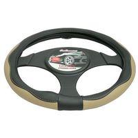 Pokrowce na kierownice, Pokrowiec na kierownicę 37-39,5 Luxury beżowy