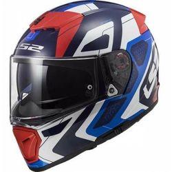 KASK MOTOCYKLOWY LS2 FF390 BREAKER ANDROID BLUE RED nowość: 2021