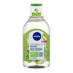 Nivea Naturally Good Organic Aloe Vera płyn micelarny 400 ml dla kobiet