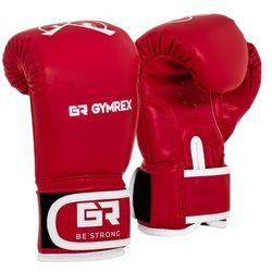 Rękawice bokserskie dla dzieci - czerwone - 4 oz