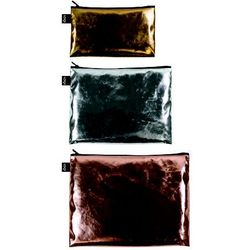 Saszetki Zip Pockets 3 szt. Metalic