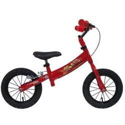 Rowerek biegowy DISNEY Auta 12 Czerwony DARMOWY TRANSPORT
