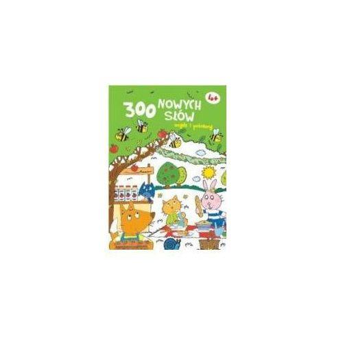 Kreatywne dla dzieci, 300 nowych słów znajdź i pokoloruj 4+ - zielona
