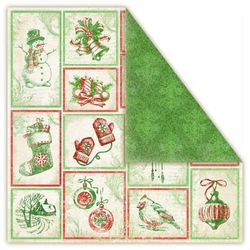 Papier Christmas in AVONLEA 30,5x30,5 cm PRESENTS - presents