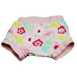 Wielorazowa pieluszka pływania basen dzieci 6-8kg - Floral Pink \ S