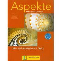 Książki do nauki języka, Aspekte 1 B1+ Lehr und Arbeitsbuch Teil 2 z płytą CD - książka (opr. miękka)