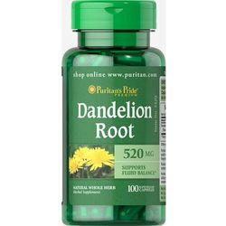 DANDELION ROOT, PURITAN'S PRIDE 100 KAPS., 520 mg KAMICA