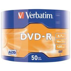 Płyty DVD-R Verbatim Matt Silver 16x 4.7GB
