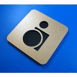 Piktogram znak WC toaleta dla niepełnosprawnych Z