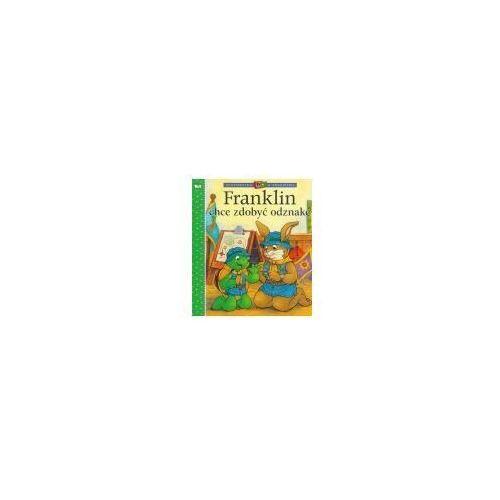 Książki dla dzieci, Franklin chce zdobyć odznakę. (opr. miękka)