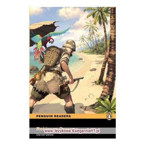 Książki do nauki języka, Robinson Crusoe Plus MP3 CD Penguin Readers Classic (opr. miękka)