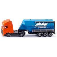 Pozostałe zabawki, Siku Super - Ciężarówka z naczepą typu Silos S1792