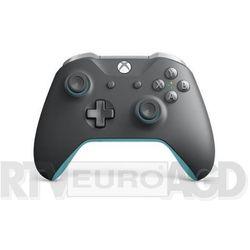 Microsoft Xbox One Kontroler bezprzewodowy (szaro-niebieski)