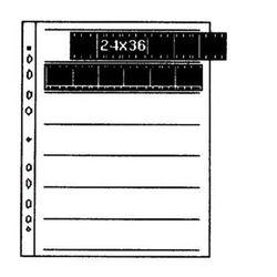 Kaiser Folia na negatywy pergaminowa 24x36 100szt