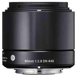 Sigma 60mm f2.8 DN Czarny Mikro 4/3