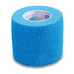 STOKBAN Samoprzylepny bandaż elastyczny 5cmx4,5m jasno niebieski 1szt