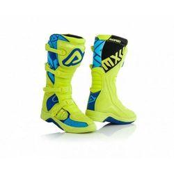 Acerbis Buty X-Team zółto - niebieski