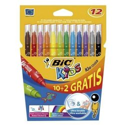 Flamastry BiC Kids Kid Couleur 10+2 kolory