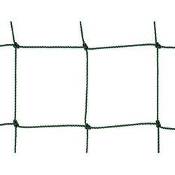 Siatka na piłkochwyty. Piłkochwyt polietylenowy oko 100mm x 100mm splotka fi 2,5mm.