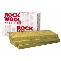 Wełna mineralna ROCKWOOL Rockmin Plus 100mm 0,037 elewacyjna dach podloga paczka