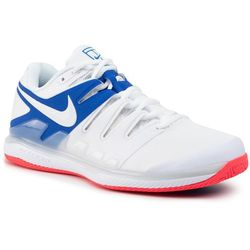 Buty NIKE - Air Zoom Vapor X Cly AA8021 103 White/White Game Royal