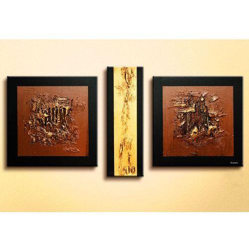 """Obrazy, obrazy nowoczesne """"golden texture"""" NOWOŚĆ! MODNE, DESIGNERSKIE WZORY! na płótnie rabat 25%"""