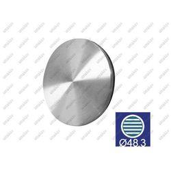 Zaślepka pochwytu do wspawania AISI304, D48,3x2/t4