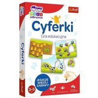 Gry dla dzieci, Trefl Gra edukacyjna CYFERKI Mały Odkrywca 01946