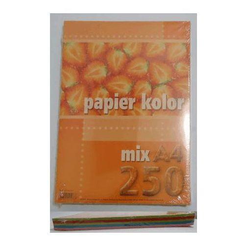 Pozostałe artykuły papiernicze, Papier ksero kolory fluorescencyjne mix A4/250