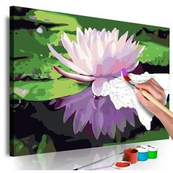 Artgeist Obraz do samodzielnego malowania - lilia wodna