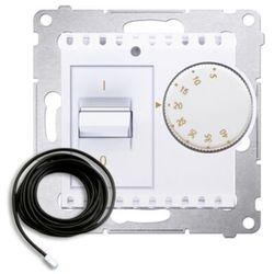 Kontakt-simon Regulator temperatury 54 drt10z.02/11 podłogowy z czujnikiem zewnętrznym 3m biały (5902787826703)
