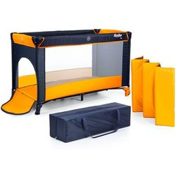 Łóżeczko turystyczne MOOLINO FUN pomarańczowy, kolor pomarańczowy
