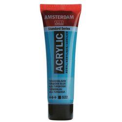 Farba akryl AMSTERDAM 120ml. - turquoise blue 522, 17095222