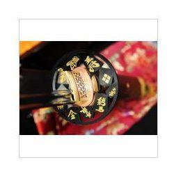 Kuźnia mieczy samurajskich Miecz japoński samurajski ninja honsanmai do treningu, stal wysokowęglowa 1095 oraz warstwowana, hartowany glinką r354