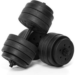 Abarqs Hantle treningowe bitumiczne hc-40kg (2x20kg)