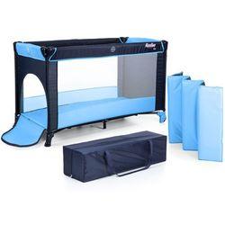 Łóżeczko turystyczne fun niebieski marki Moolino