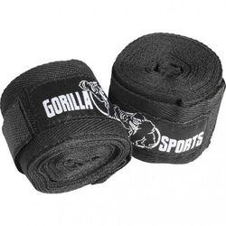 Gorilla sports Bandaże bokserskie czarny (4260438736131)