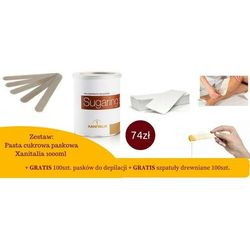Zestaw: pasta cukrowa 1000g + paski + szpatuła marki Cosnet