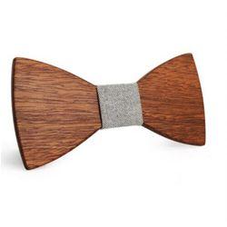 Niwatch Chłopięca muszka drewniana s59