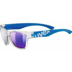 okulary przeciwsłoneczne sportstyle 508 clear blue/mir blu (9416) marki Uvex