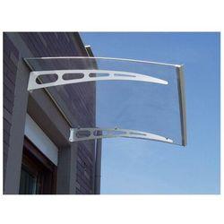 Vente-unique Proste zadaszenie neona z aluminium - 150*90*15cm