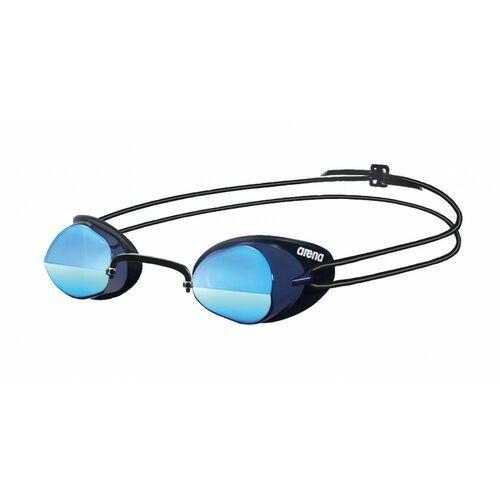 arena Swedix Mirror Okulary pływackie szary/niebieski 2018 Okulary do pływania (3468334053296)