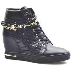 Sneakersy Carinii B5550-E50 Czarne lico