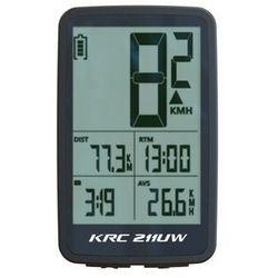 Licznik 211uw bezprzewodowy 11f termometr podśw. czarno-biały marki Kross