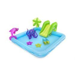 Basen wodny plac zabaw + zjeżdżalnia brodzik marki Bestway