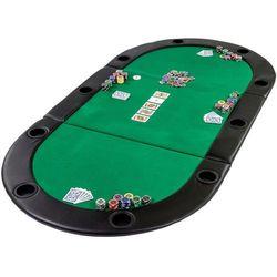 Mks Zielony stół blat pokerowy do pokera poker kasyno