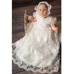 Balumi Sukienka niemowlęca do chrztu 6k40cb