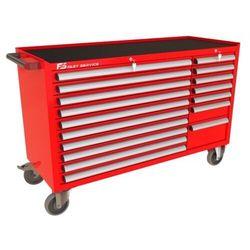 Fastservice Wózek warsztatowy mega z 17 szufladami pm-210-19